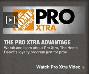 Pro Xtra Loyalty Program At The Home Depot