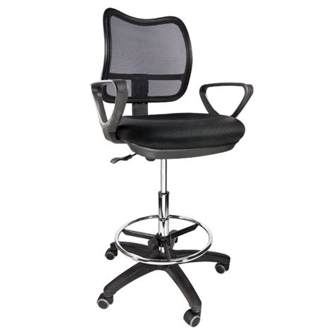 Ergonomic Drafting Stools by Drafting Chair Mesh Stool Armrest Ergonomic Adjustable