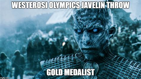 White Walkers Meme - white walker king reigns imgflip