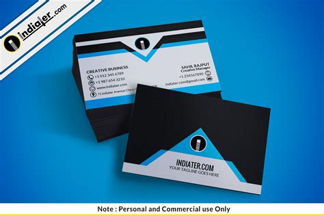 creative business card templates free indiater free beautiful creative business cards