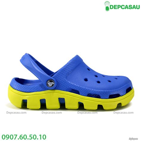 Crocs Duet Sport Plif Kakhi gi 224 y d 233 p crocs ch 237 nh h 227 ng crocs xịn d 233 p crocs gi 224 y crocs xaula vn 5giay