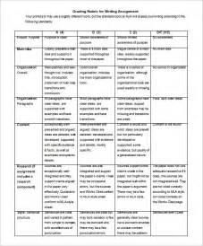 Essay Writing Format Exle by Presentation Rubric Template Presentation Grading Template Grading Rubric Web20tools Ideas