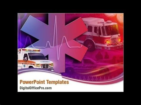 First Aid Car Powerpoint Template Backgrounds Digitalofficepro 00030 Youtube Aid Powerpoint Template