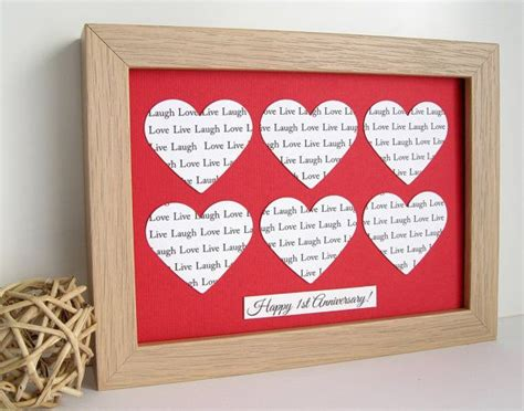 Wedding Anniversary Name Song by Personalised Framed Wedding Anniversary Gift Customise