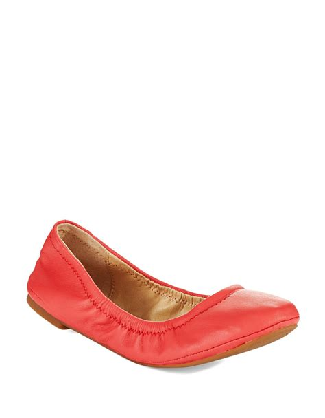 lucky shoes flats lucky brand emmie ballet flats in lyst