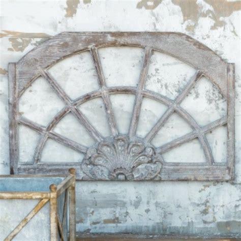 Arch Windows Decor Floret Arched Window Frame Relic Antique Farmhouse