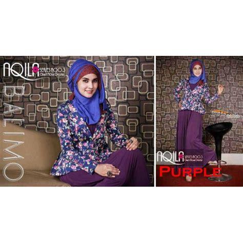 Balimo Terlaris balimo aqila purple baju muslim gamis modern