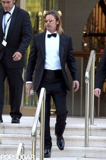 Cannes Festival Brad Pitt And Get Shady by Brad Pitt Lets In Cannes With A Drink In Brad