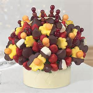 chocolate covered fruit basket berry chocolate bouquet 174 pineapple bananas edible arrangements 174