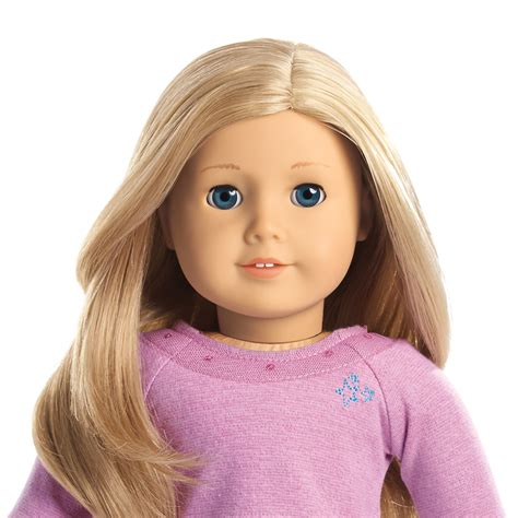 American Girl Doll Sweepstakes - american girl truly me doll blue eyes light skin and layered blond hair dolls