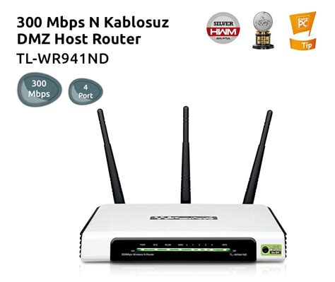 Tp Link Wireless N Router Tl Wr941nd Tp Link Tl Wr941nd 300m Wireless N Router Fiyat箟 Ve