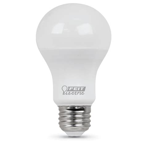 Led Light Bulbs Equivalent Wattage Feit Electric 40 Watt Equivalent Soft White A19 Led Medium Base Light Bulb Of 24 A450 827