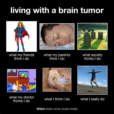 Brain Cancer Meme - the liz army what i really do living with a brain tumor