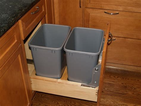 kitchen garbage can cabinet kitchen trash can cabinet home design ideas