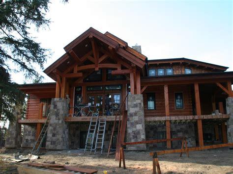 craftsman cabin log home house plans small log cabin homes plans