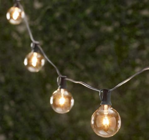 Restoration Hardware Outdoor Lights 10 Easy Pieces Cafe Style Outdoor String Lights Gardenista