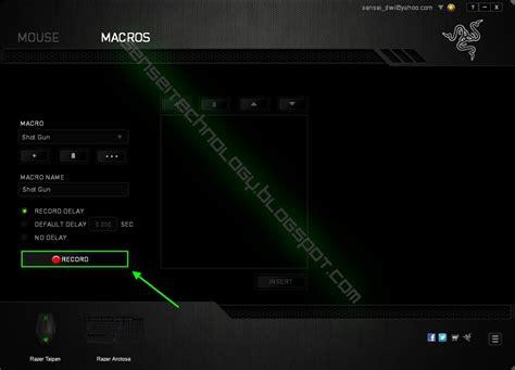 Mouse Macro Razer Termurah cara setting macro pointblank mouse razer