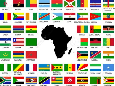 african countries flags myunistory the dilemma of an african international