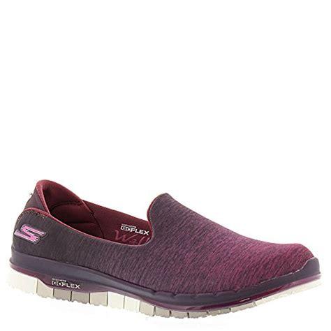 Skechers Go Flex Walk Muse S Sneakers Abu Abu usa skechers go flex walk muse womens slip on walking sneakers burgundy 7 5 11street malaysia