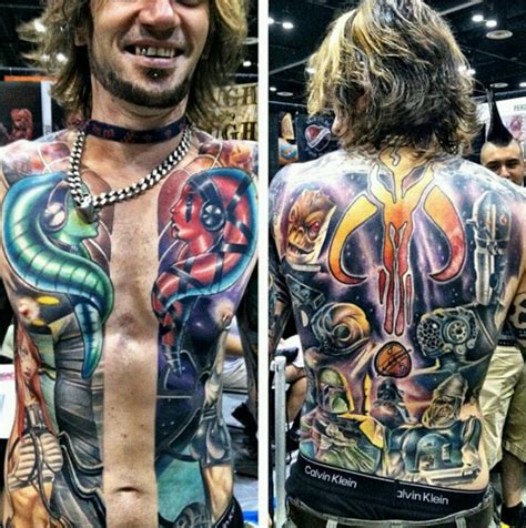 full upper body tattoo designs full upper body star wars tattoo tattoos pinterest