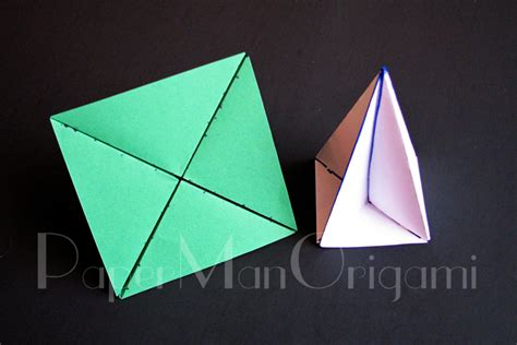 Origami Forms - free coloring pages origami tree tutorial