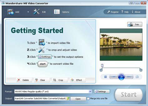 format video wii wmv to wii converter convert wmv movie to wii supported