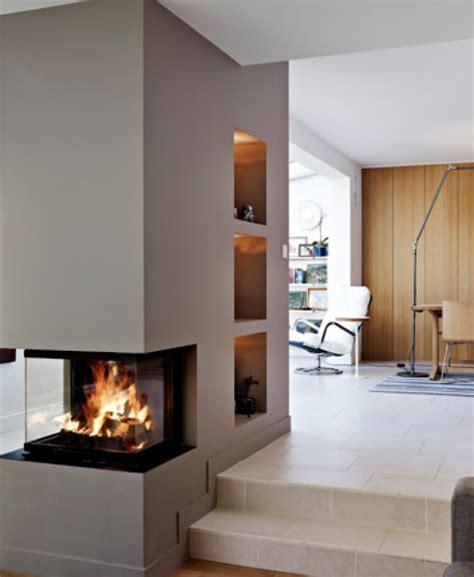 raumteiler wohnzimmer essbereich kamin raumteiler idee
