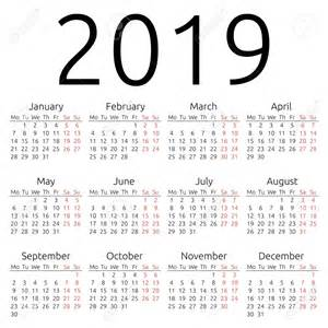 2018 Yearly Calendar With Holidays Yearly Calendar 2019 2018 Calendar With Holidays