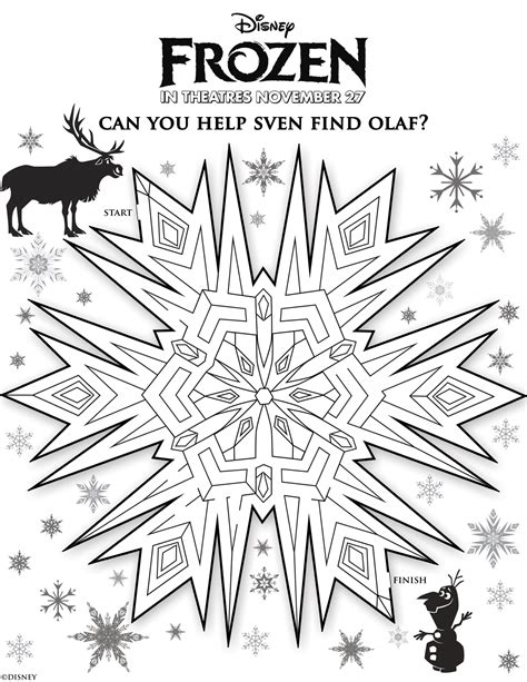 pages and activities disney s frozen free printables for and the
