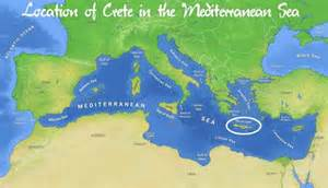 crete facts geography maps and other details of the