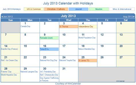 Calendar July 2013 2013 July Calendar Auto Design Tech