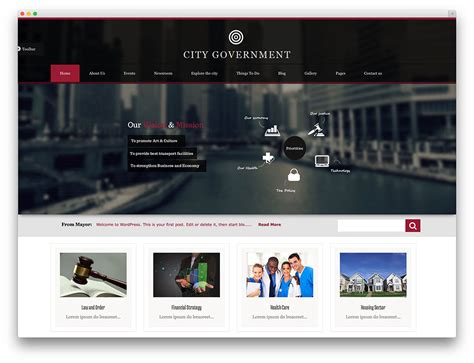 five stars themeforest s first page wordpress corporate top 10 wordpress government themes webhosting dogs