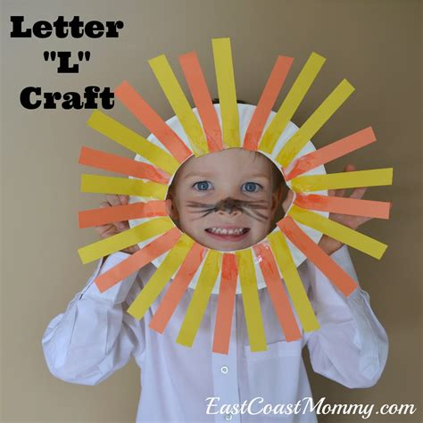 East Coast Alphabet Crafts Letter L