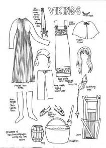 Ancient History Paper Dolls sketch template