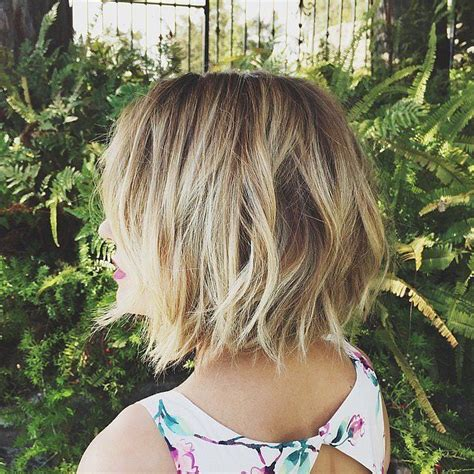 choppy layered bob back latest short haircuts for women short hairstyles for 2017