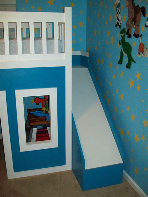 playhouse loft bed with stairs ana white playhouse loft bed with stairs and slide diy