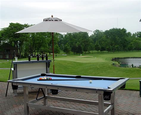 outdoor concrete pool table outdoor pool table
