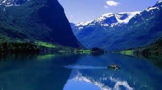 Tres fiordos noruegos