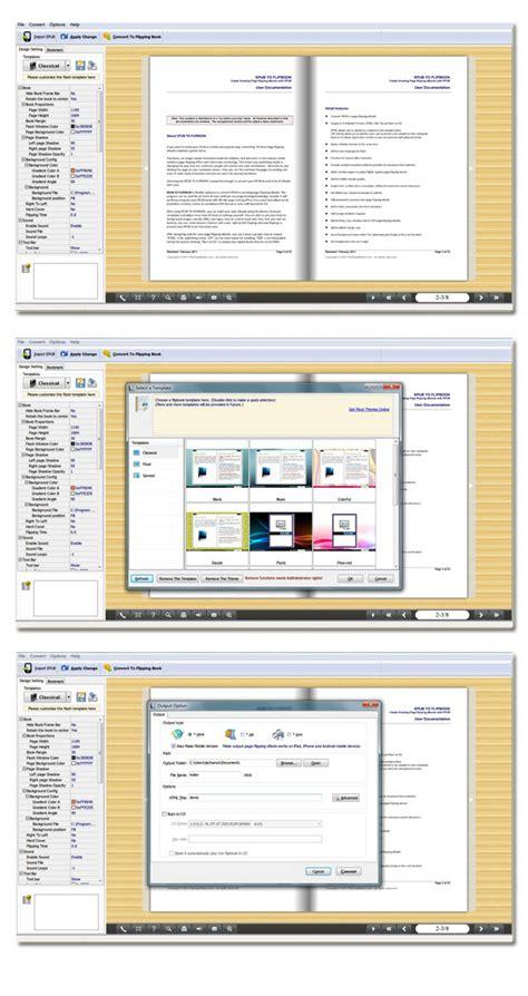 Pdf Flip Book Software Free Tomlloadd Brochure Maker Freeware