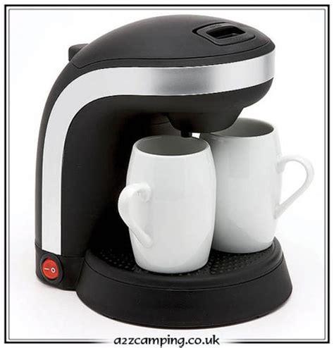 Watt Coffee new cafetiere coffee 2 x cups 12v 12 volt low watt