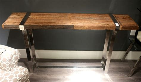 Sleeper Table by Railway Sleeper Console Table Cambrewood