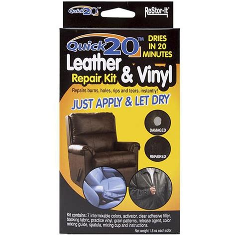 couch fixer as seen on tv as seen on tv re stor it quick 20 leather and vinyl repair