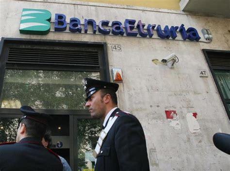 ultime notizie banca etruria etruria quei conti svuotati prima crac il sospetto