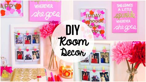 Room Decor Ideas Diy Easy Diy Room Decor 2015 3 Easy Simple Wall Ideas