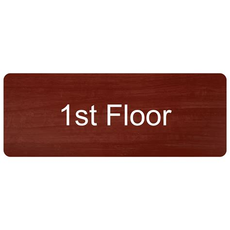 floor number engraved sign egre 250 whtoncnmn floor