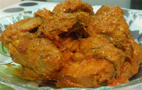 resep membuat rendang ayam lezat hidangan lebaran