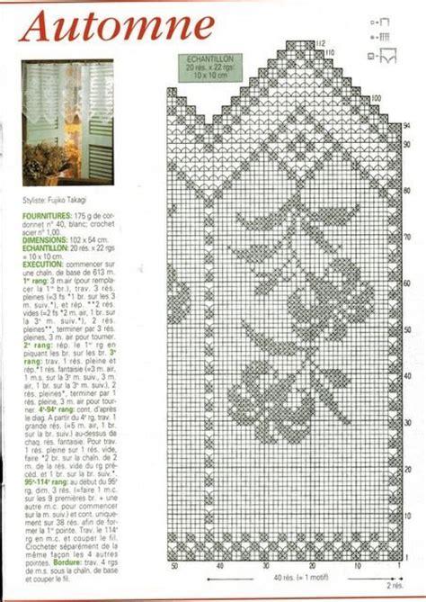 cenefas de ganchillo cenefa delicada para tu ventana esquema crochet
