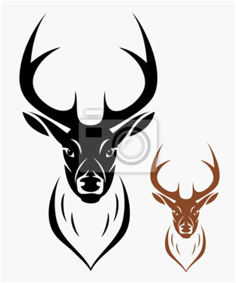 Deer Hunting Wall Murals sticker deer head roar set signs pixersize com