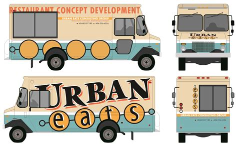 food truck design template food truck autward design food truck wrap template