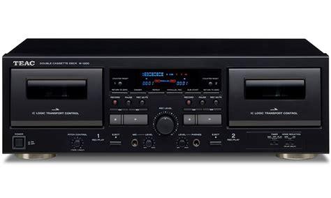 teac cassette deck teac w 1200 nieuw dubbel cassettedeck met usb poort